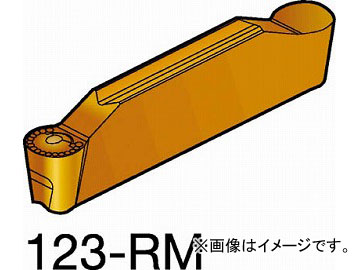 サンドビック コロカット2 突切り・溝入れチップ 3115 N123J2-0600-RM_3115(6109730) 入数:10個