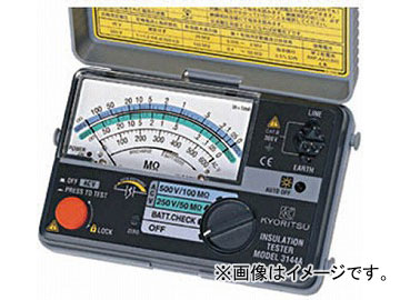 KYORITSU 2レンジ小型絶縁抵抗計 MODEL3145A(4796748) JAN:4560187060311