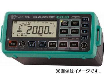 KYORITSU デジタル絶縁・接地抵抗計(メモリ機能付モデル) KEW6023(4796616) JAN:4560187064265