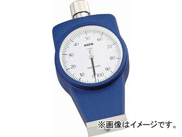 KDS ゴム硬度計Eタイプ標準型 DM-107E(4756291) JAN:4954183158170