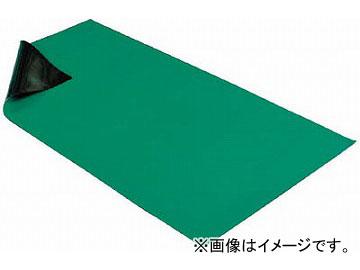 HOZAN 導電性カラーマット 1X1.8M グリーン F-727(4699921) JAN:4962772097274