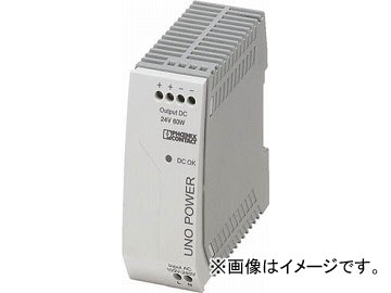 フエニックス スイッチング電源ユニット DINレール取付け 60W UNO-PS/1AC/24DC/60W(4798295)
