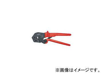 クニペックス 9752-04 圧着ペンチ 250mm 2867977(4787463) JAN:4003773025450