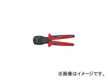 クニペックス 9754-24 マイクロプラグ用平行圧着ペンチ 190mm 9754-24(4787536) JAN:4003773060215