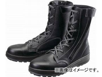 シモン 安全靴 長編上靴 WS33黒C付 23.5cm WS33C-23.5(4914813) JAN:4957520163400