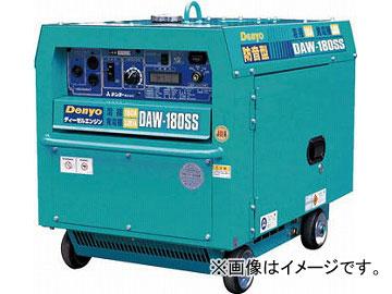 デンヨー ディーゼル防音型エンジン溶接機 DAW-180SS(4625561) JAN:4582247531012