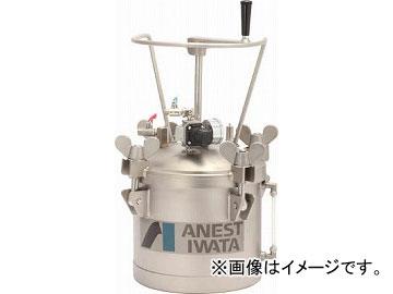 アネスト岩田 ステンレス加圧タンク 手動攪拌器付仕様 10L COT-10HL(4516940) JAN:4538995100031