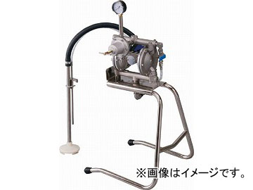 アネスト岩田 中形ダイヤフラムペイントポンプ 汎用タイプ DPS-90E(4517059) JAN:4538995096532