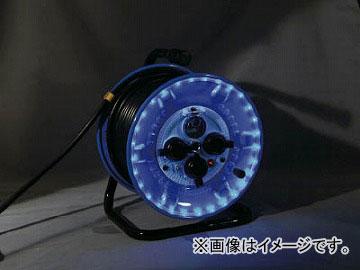 日動 防雨型電工ドラム LEDラインドラム 緑 NPWL-EB33-G(4866169) JAN:4937305046692