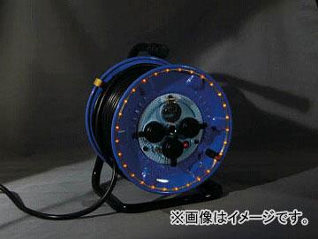 日動 防雨型電工ドラム LEDラインドラム 赤 NPWL-EB33-R(4866185) JAN:4937305046708