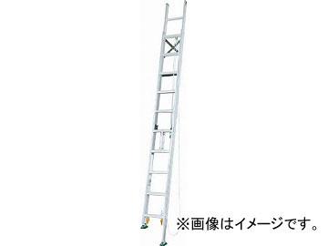 アルインコ 脚伸縮二連はしご 全長5.68m 最大使用質量 100kg MDE57D(4555571) JAN:4969182263169