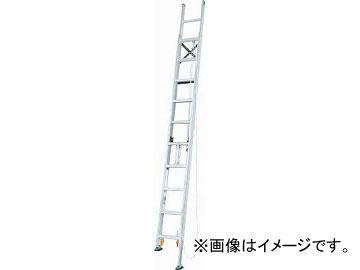 アルインコ 脚伸縮二連はしご 全長9.13m 最大使用質量 100kg MDE91D(4555619) JAN:4969182263206