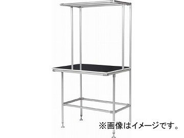 SUS セル生産作業台 棚板・作業ボードあり GFTR2880010(4565711) JAN:4560248900747