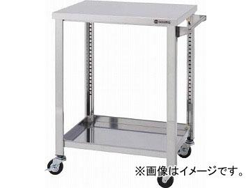 アズマ ステンレスワゴンSGシリーズ 600×450×800 2段 WG2-600K(4553004) JAN:4560155878689