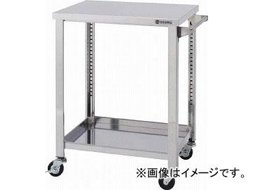 アズマ ステンレスワゴンSGシリーズ 750×600×800 2段 WG2-750H(4553012) JAN:4560155878719