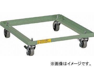 トラスコ中山 LVE型キャビネット用キャスター付ベース LVE-C(4652258) JAN:4989999626216