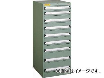 トラスコ中山 VE5S型キャビネット 500X550XH1200 引出9段 VE5S-1202(4790251)