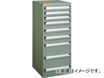 トラスコ中山 VE5S型キャビネット 500X550XH1200 引出9段 VE5S-1204(4790278)