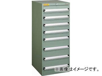 トラスコ中山 VE5S型キャビネット 500X550XH1200 引出8段 VE5S-1205(4790286)