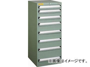 トラスコ中山 VE5S型キャビネット 500X550XH1200 引出8段 VE5S-1208(4790316)