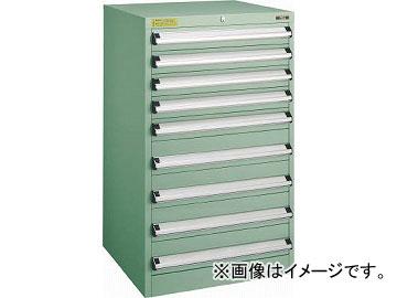 トラスコ中山 VE6S型キャビネット 600X550XH1000 引出9段 VE6S-1006(4790570)