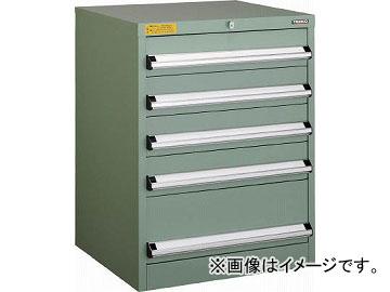 トラスコ中山 VE6S型キャビネット 600X550XH800 引出5段 VE6S-805(4790871)