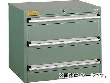 トラスコ中山 VE7S型キャビネット 700X550XH600 引出3段 VE7S-606(4791207)