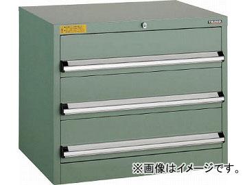 トラスコ中山 VE7S型キャビネット 700X550XH600 引出3段 VE7S-608(4791223)
