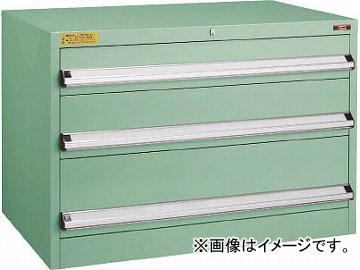 トラスコ中山 VE9S型キャビネット 880X550XH600 引出3段 VE9S-603(4791550)