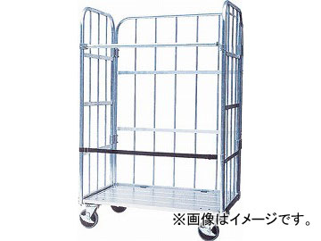 ナカオ アルミ製台車「運ぱん君」 UK-2(4634284) JAN:4984842907719