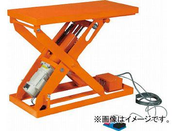 トラスコ中山 スーパーFAリフター1000kg 電動式 1050X800 HFA-100-0810(4644018) JAN:4989999677669