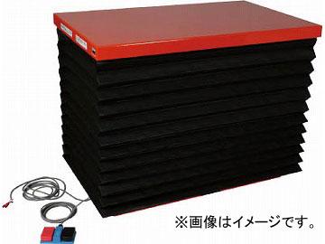 トラスコ中山 テーブルリフト500kg 油圧式 750X1350 蛇腹付 HDL-50-0713J(4642970) JAN:4989999677188