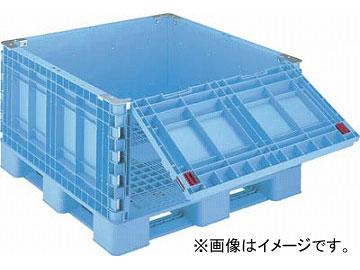 リス パレットボックスBJB-S・1111X65一面ダンプ11 ブルー BJB-S・1111X65-SD11(4580915) JAN:4938233386249