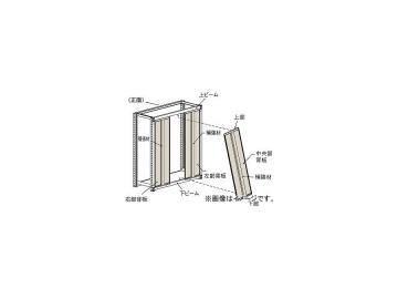 トラスコ中山 M2型棚用はめ込み式背板 W1200XH1800 SM2-64_NG(4614402) JAN:4989999738568
