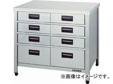 アズマ 縦型引出し付作業台 KTVO-600(4552971) JAN:4560155873325
