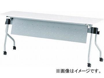 TOKIO 天板跳上式並行スタックテーブル(パネル付) NTA-N1845P-W(4919670)