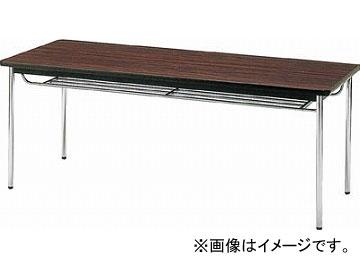 トラスコ中山 会議用テーブル 1800X750XH700 丸脚 ローズ TDS-1875T_RO(4646541) JAN:4989999767056