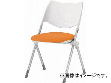 アイリスチトセ ミーティングチェア WSX-02 オレンジ WSX-02-F-OG(4554400) JAN:4905865925252