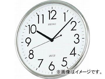 SEIKO オフィスクロック 直径314×36 P枠 銀色 KH220A(3366120) JAN:4517228025617