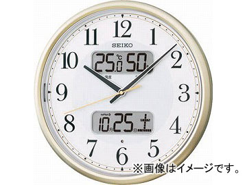 SEIKO 電波掛時計 P枠 KX384S(4922212) JAN:4517228035098