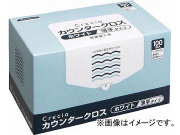 クレシア カウンタークロス 薄手タイプ ホワイト 65402(4705173) JAN:4901750654023