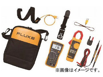FLUKE 電気設備用マルチメーター116/323HVACコンボキット 116/323KIT(7657293)