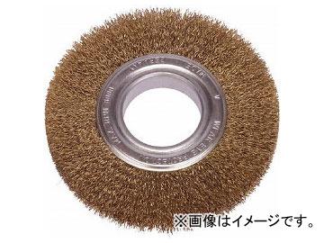 LESSMANN ホイルブラシ 200mm 0.2 真鍮線 366543(7521286)