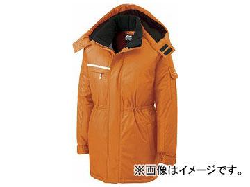 ジーベック 581581 防水防寒コート オレンジ M 581-82-M(7639457)