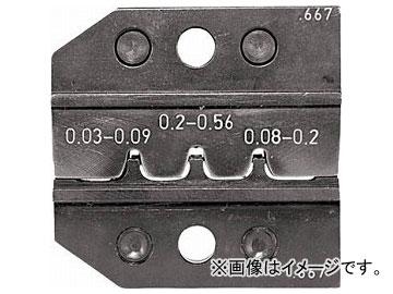 RENNSTEIG 圧着ダイス 624-667 ピンコンタクト 0.03-0.2 624-667-3-0(7665423)