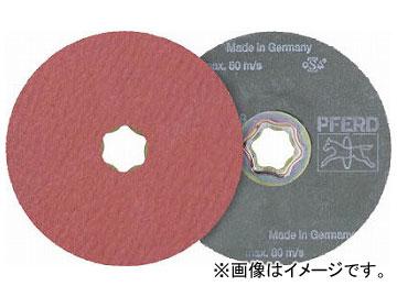 PFERD ディスクペーパー コンビクリック酸化アルミナ COOLタイプ 836149(7653247) 入数:25枚