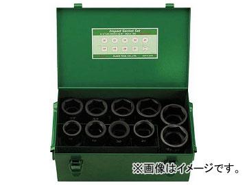 FPC インパクト セミロングソケットセット 差込角25.4mm 10pc 8WA-S10(7697147)