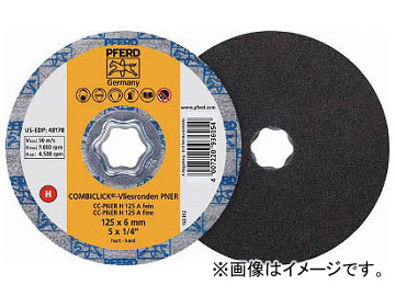PFERD ディスクペーパー コンビクリック不織布ディスク PNER 948187(7653417) 入数:5枚