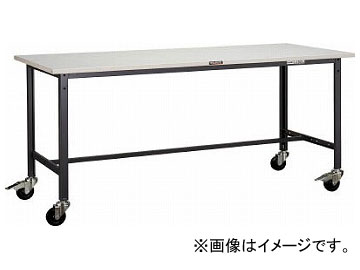 トラスコ中山 SAE型作業台 900×600 φ100キャスター付 SAE-0960C100(7702973)