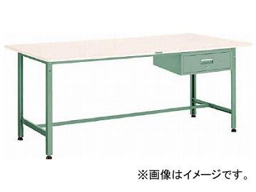 トラスコ中山 AE型作業台 900X600XH740 1段引出付 AE-0960F1(2784271)